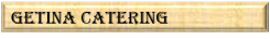 GETINA CATERING